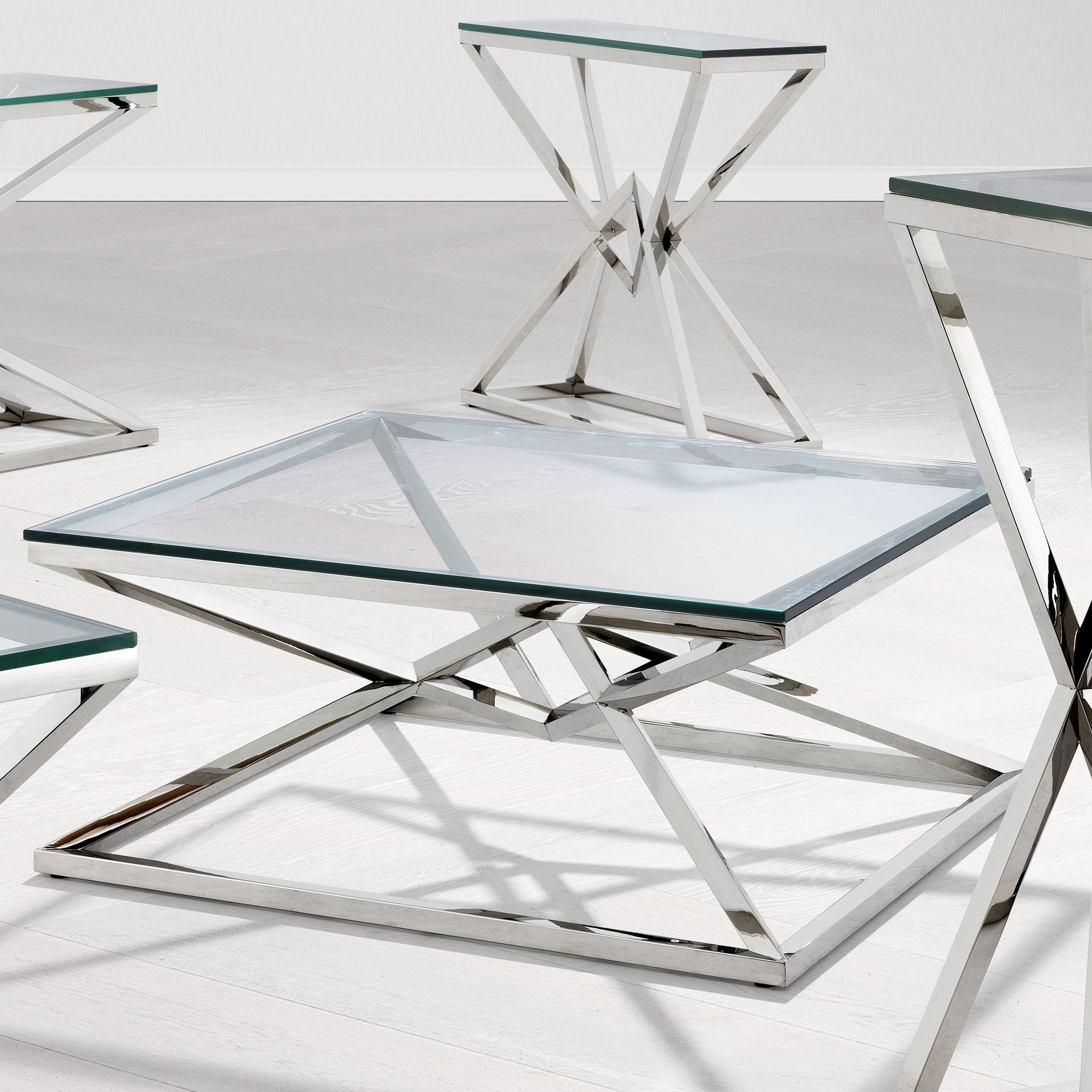 Couchtisch Glas Connor Wilhelmina Designs