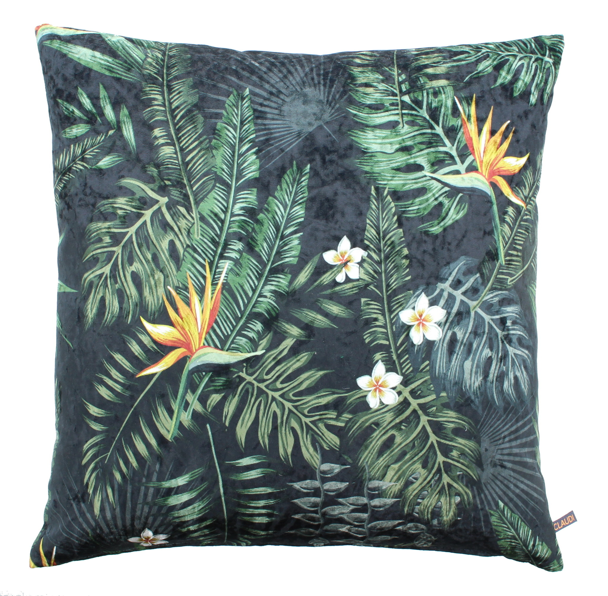 Kissen Jungle Flowers Ice Wilhelmina Designs