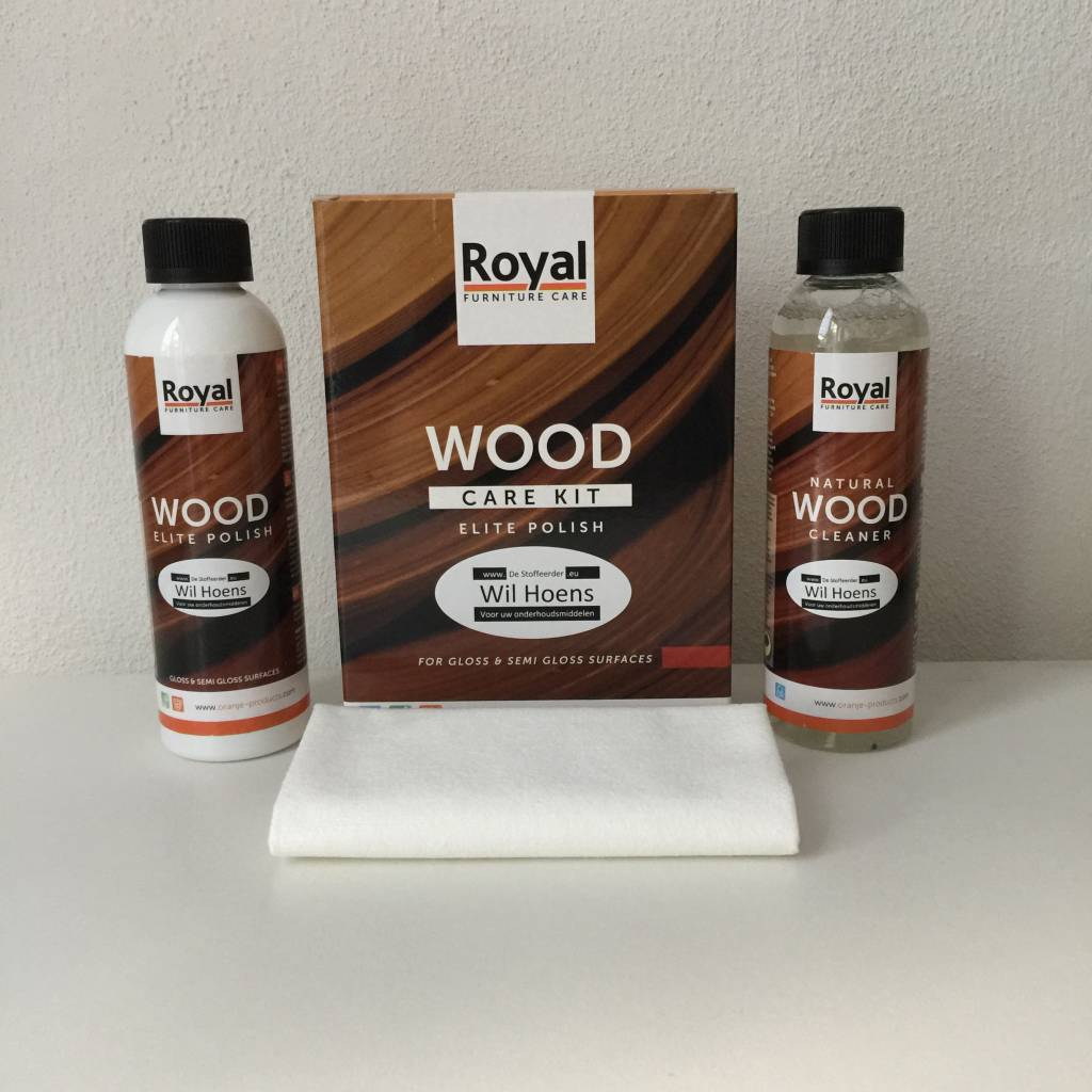 Meuble Vynil Wood Care Kit Elite Meubel Polish De Stoffeerder Wil Hoens