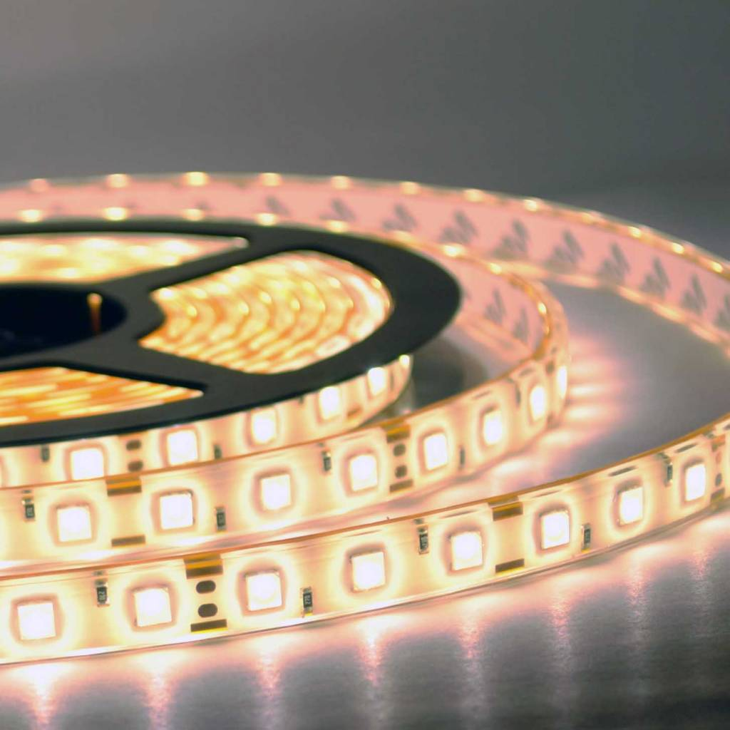 Led Strip Waterproof Led Strip Warm White 5050 60 Led M Waterproof Per 50cm