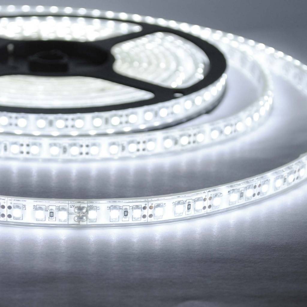Led Strip Waterproof Led Strip White 120 Led M Waterproof Per 50cm