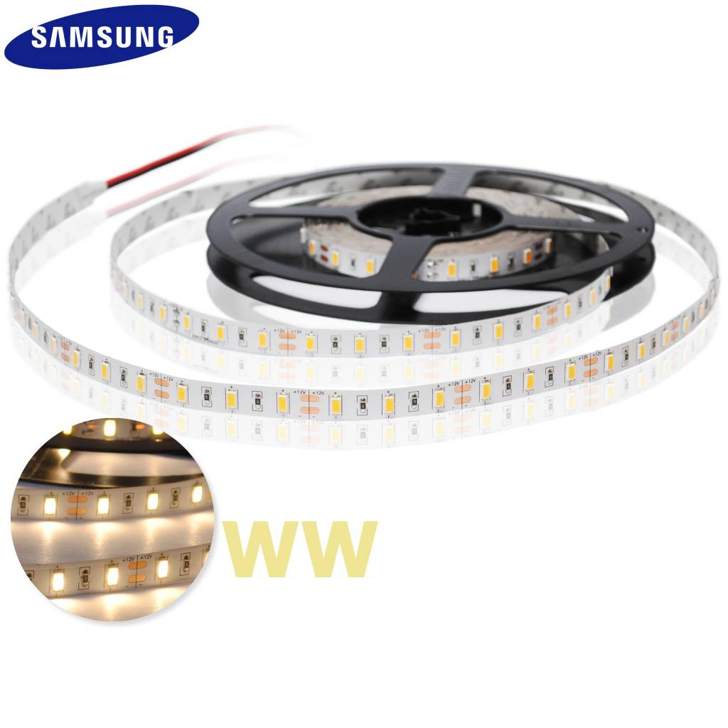 Led Strip Waterproof Led Strip 5630 Smd 60 Led M Warm White Per 50cm