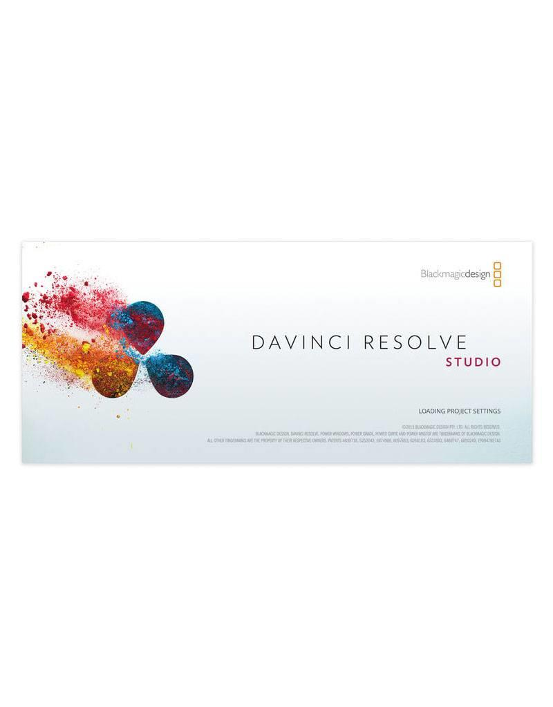 Studio Van Eldik Blackmagic Design Davinci Resolve Studio Software Actuele Versie