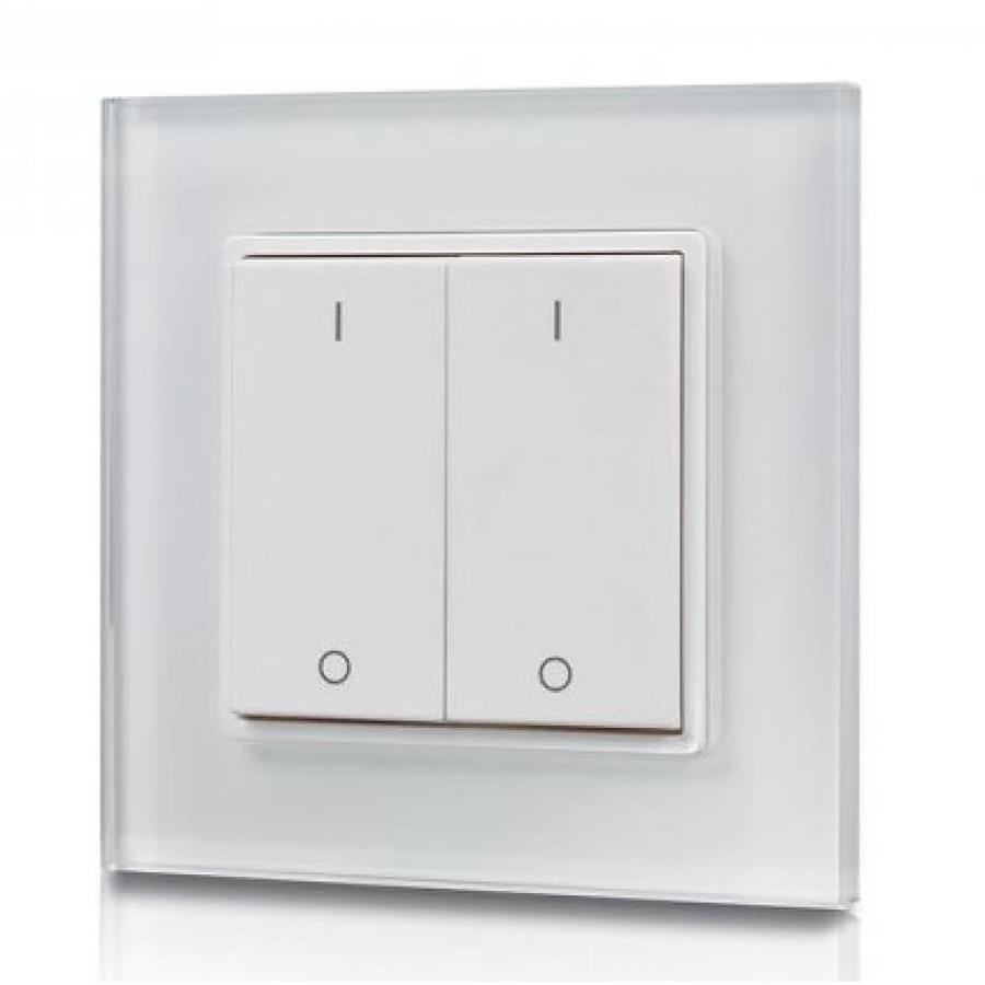 Led Dimmer Draadloos Intoled 2 Channel Wireless Led Wall Dimmer