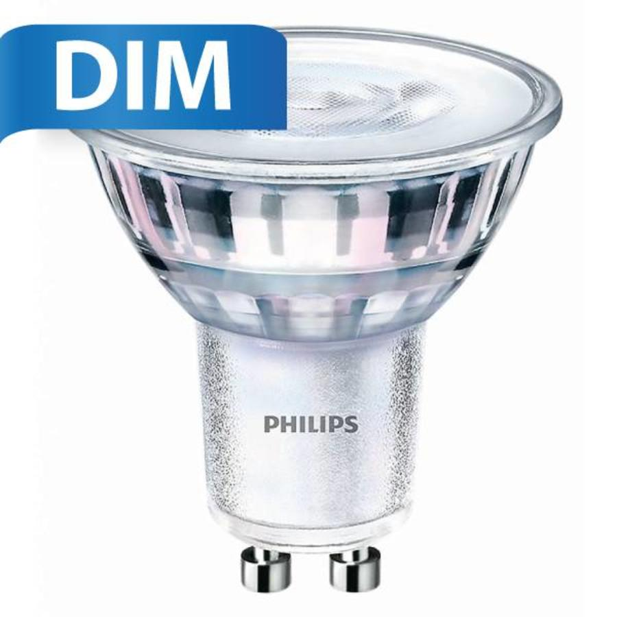 5 Watt Led Philips Philips Gu10 Led Spot 5 Watt Dimmable 2700k Warm White Replaces 50w