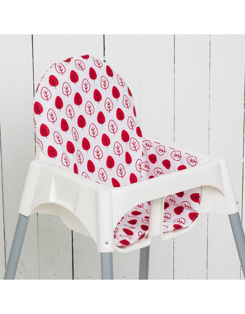 Coussin Ikea Puckdaddy Coussin Feuilles Rouge