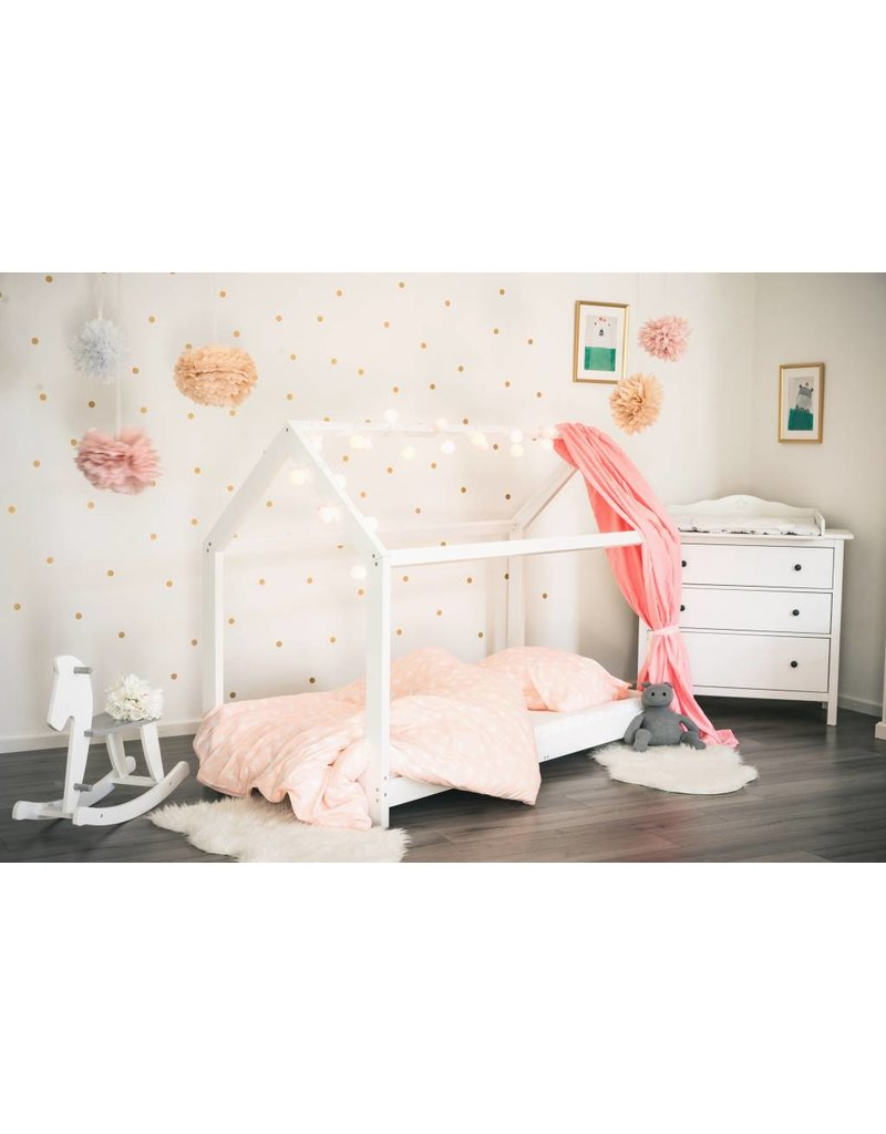 Woood Kinderbed Tipi Bedombouw 90x200 Tipi Bed X Cm White With Bedombouw 90x200 Good