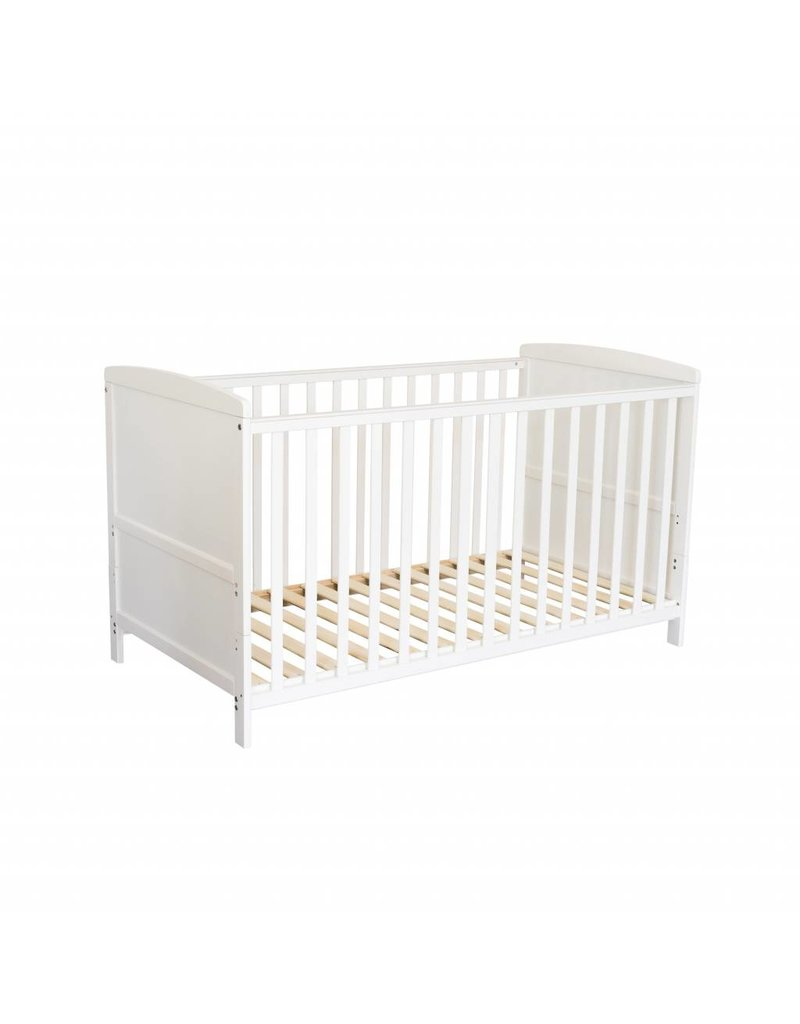 Kinderbett Baby Baby Cot Bed In White