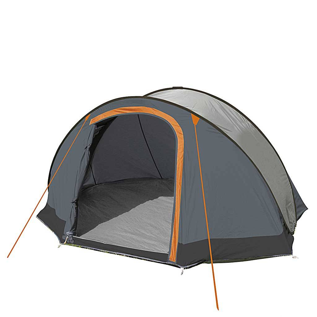 1 Persoons Pop Up Tent Eurotrail Jump Grijs Zwart Pop Up Tent 2 Personen