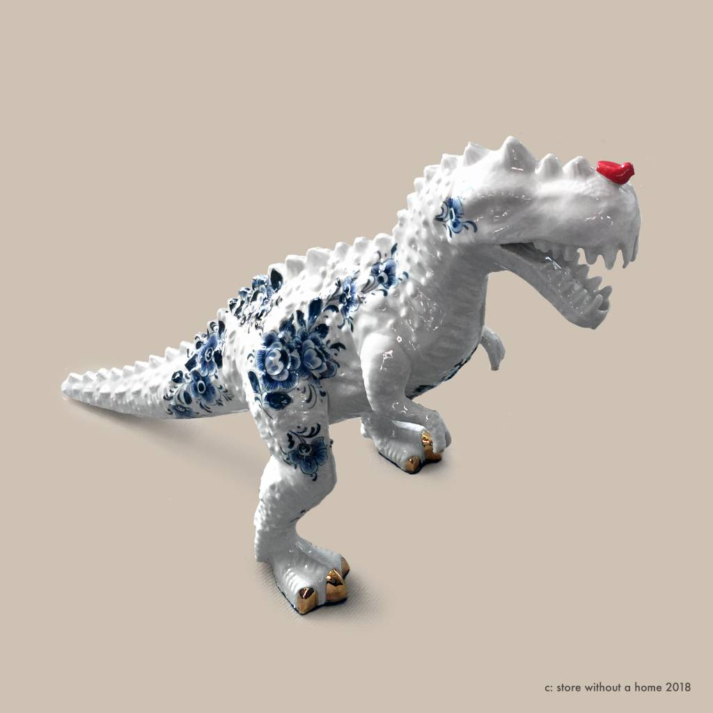 Store Without A Home Porcelain T Rex Dino