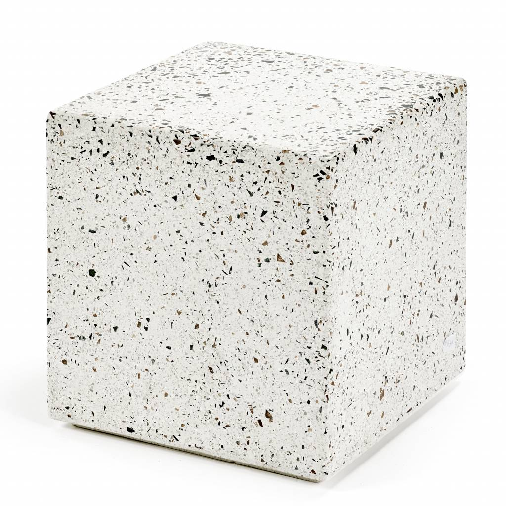 Store Without A Home Modern Terrazzo Side Table