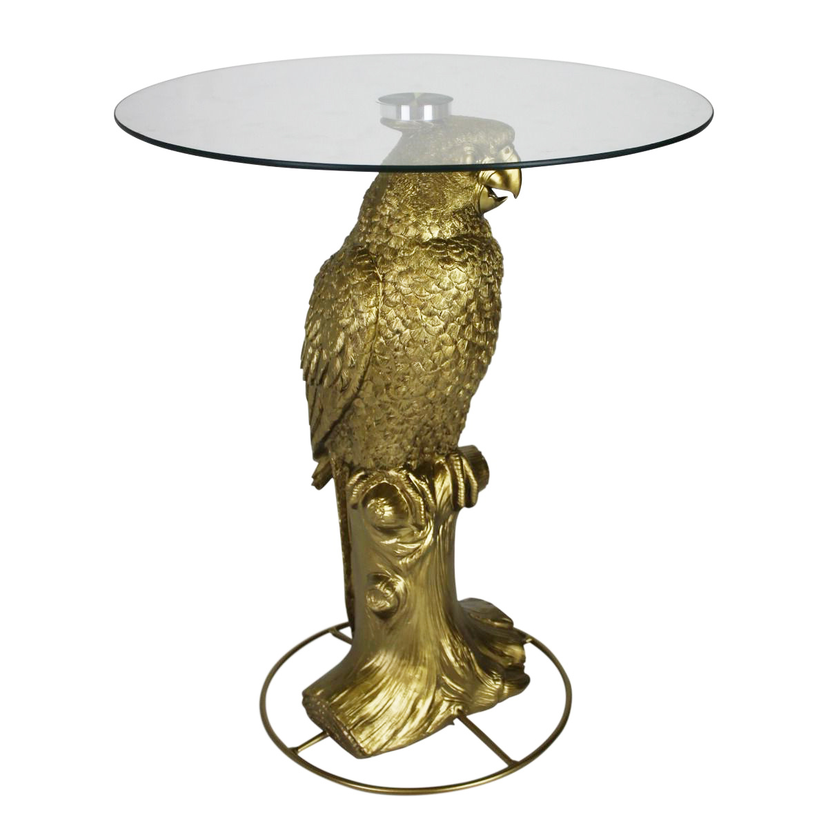 Store Without A Home Gold Parrot Table