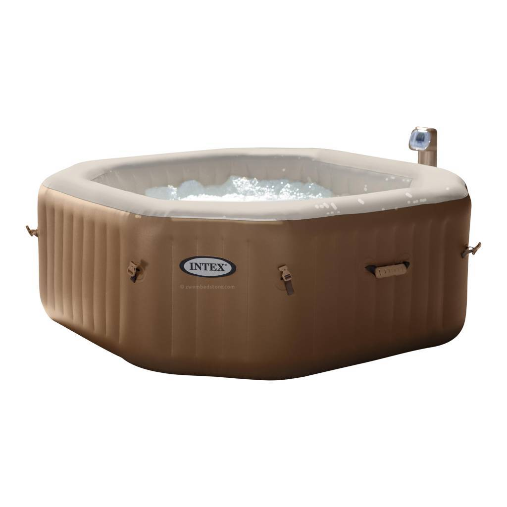 De Bubbel Zwembad Purespa Bubble Therapy Octagon Hard Water System 71 Cm