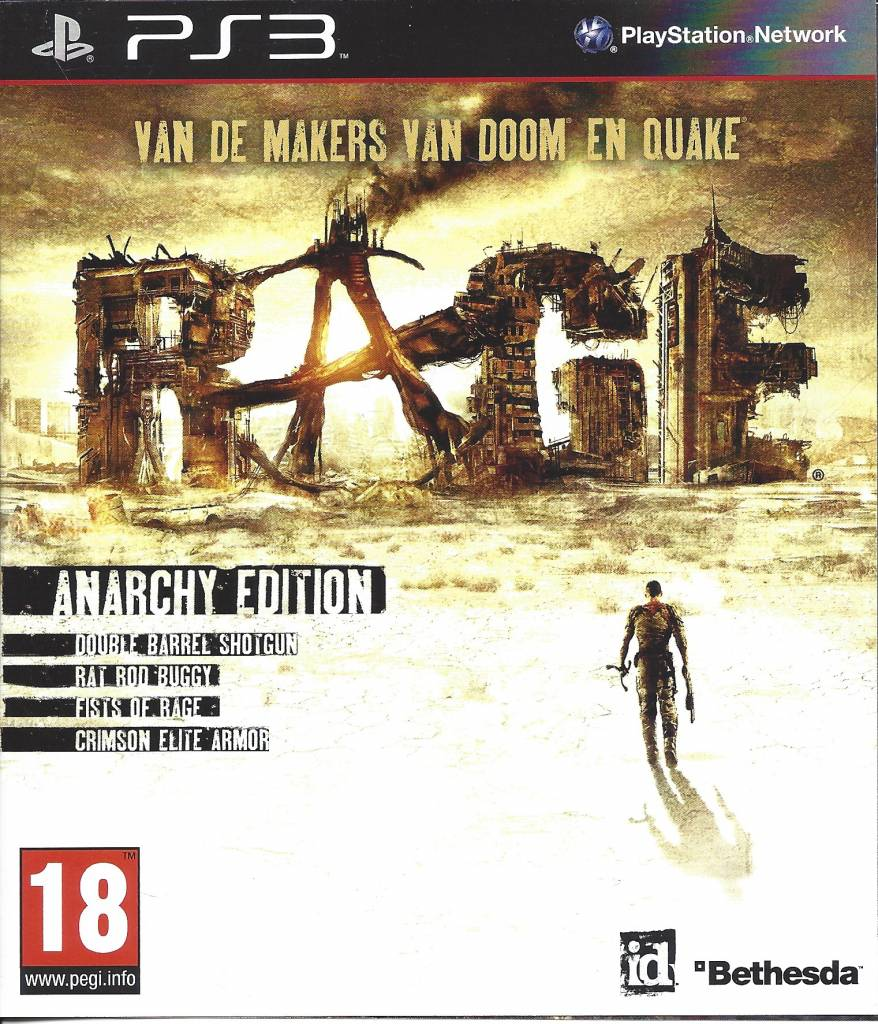 Edition For Ps3 Rage Anarchy Edition For Playstation 3 Ps3 Passion For Games