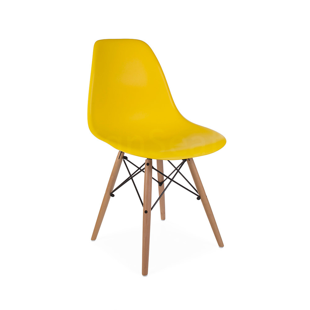 Dsw Eames Stuhl Dsw Eames Design Dining Chair Yellow - Eakus