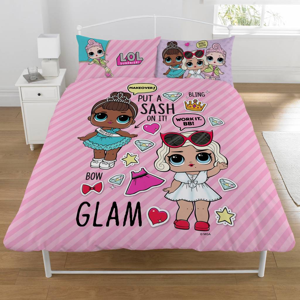 Bettbezug 200x200 Lol Surprise Bettbezug Glam 2 Personen 200x200 50x75 2 St