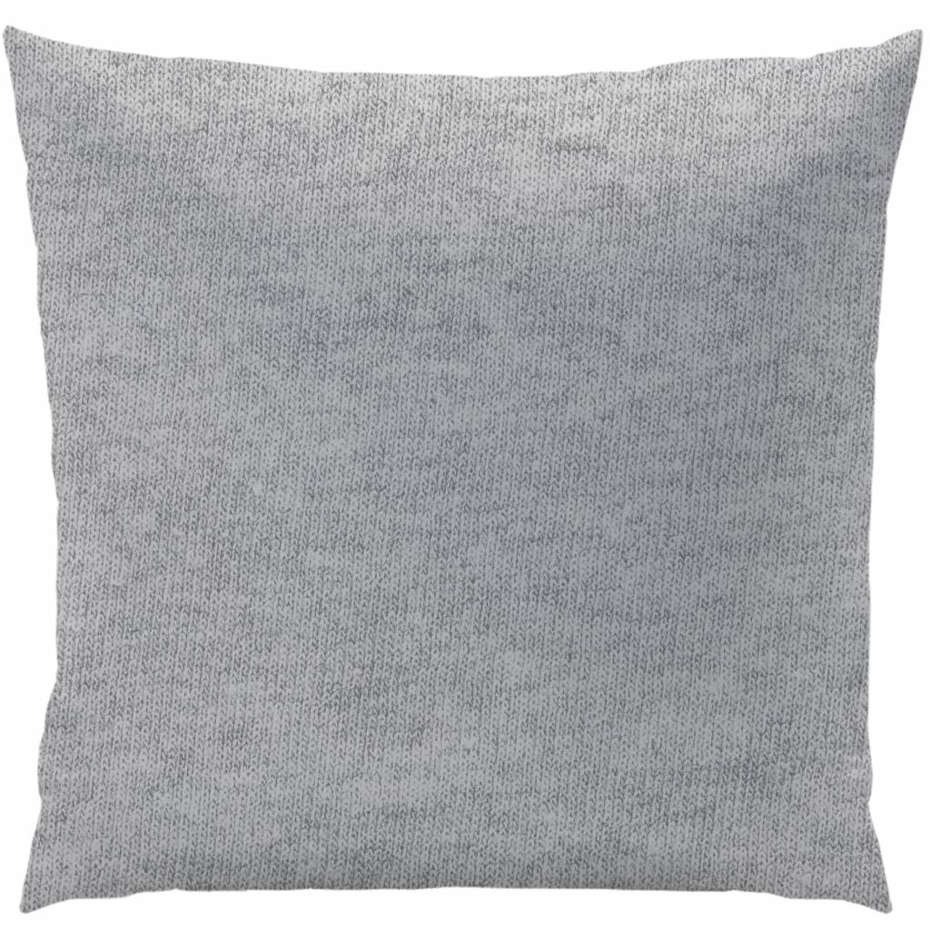 Gris 140x200 Jersey Gris Chiné Duvet Cover Single 140 X 200 Cm Gray