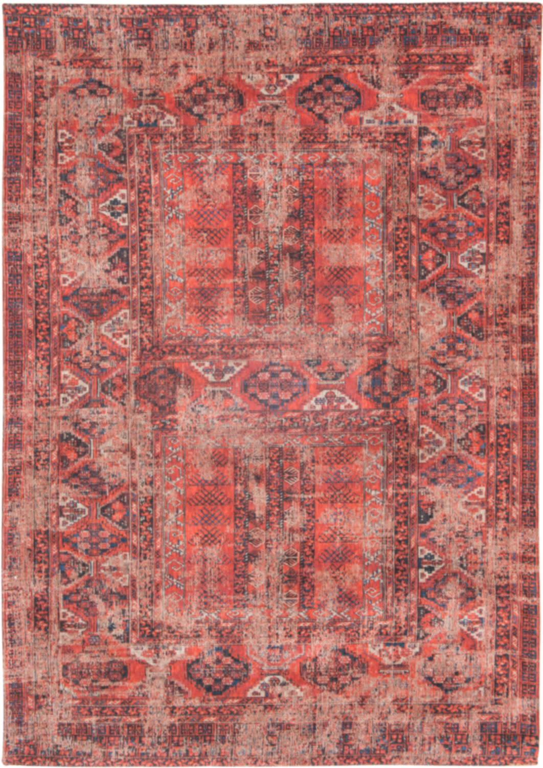 Gebloemd Tapijt Louis De Poortere Rugs Antique Bakhtiari Janissary Multi Tapijt Antiquarian Collection