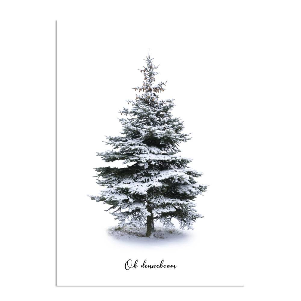 Oh Denneboom Oh Denneboom Merry Christmas Kerst Poster Interieur Poster Wanddecoratie
