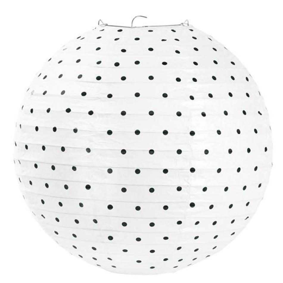 Lamp Rijstpapier Rijstpapier Lamp Small Black Dots 30 5 Cm