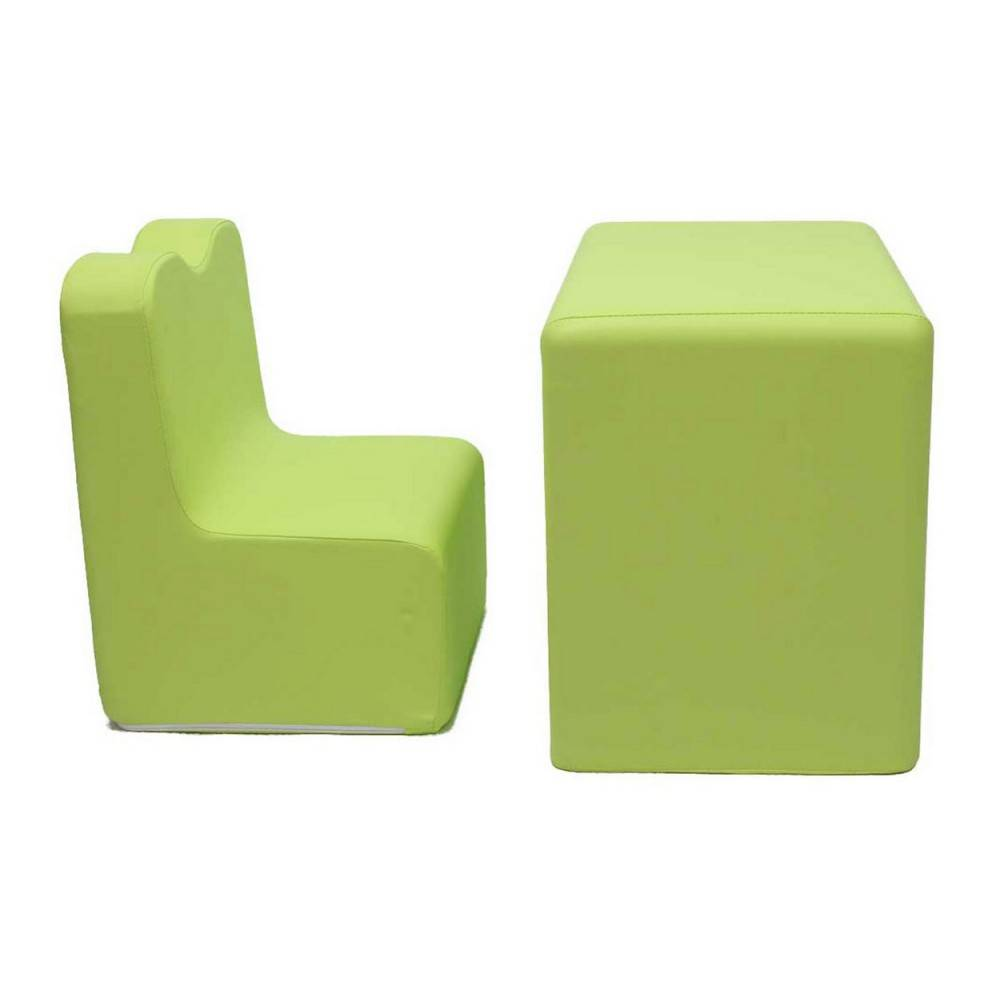 Fauteuils Bureau Teddy De Beer Bureau Fauteuil 2 In 1 Set Lime Green Ek Sb206
