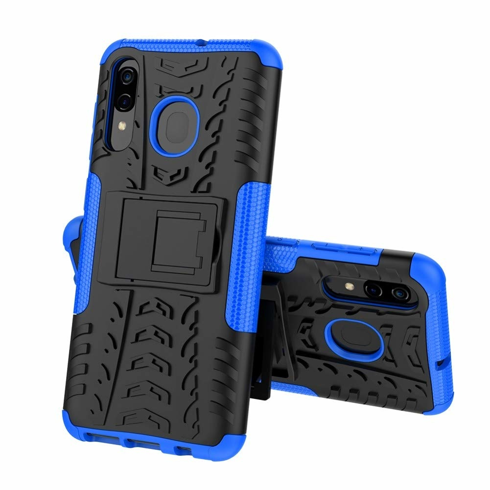 Hoes E Reader Samsung Galaxy A30 Hoes - Schokbestendige Back Cover