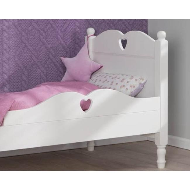 Beste Kindermatras Kinderbed Emma 90x200 Wit Van Lilli Furniture