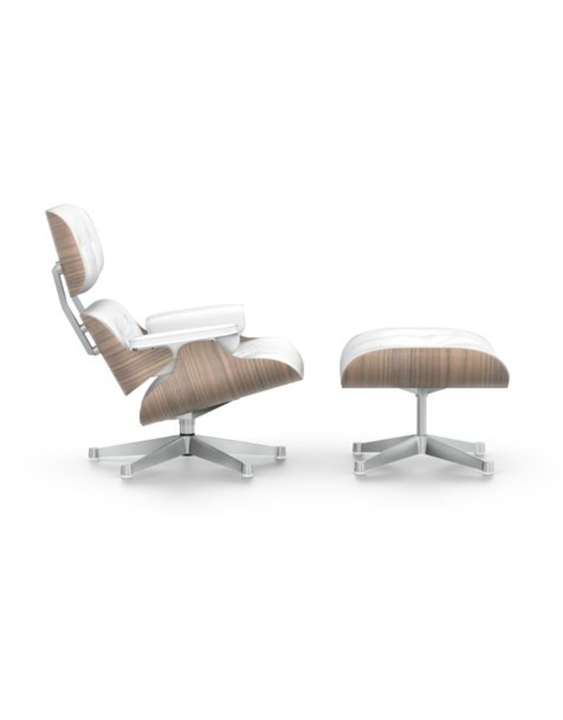 Vitra Chair Eames Vitra Vitra Eames Lounge Chair Ottoman Walnoot Wit Gepigmenteerd