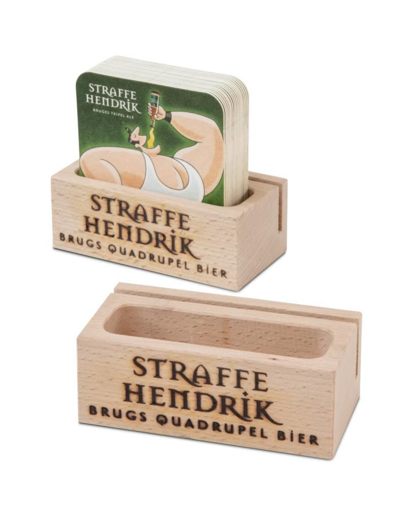 Wooden Coaster Holder Straffe Hendrik Wooden Coaster Holder