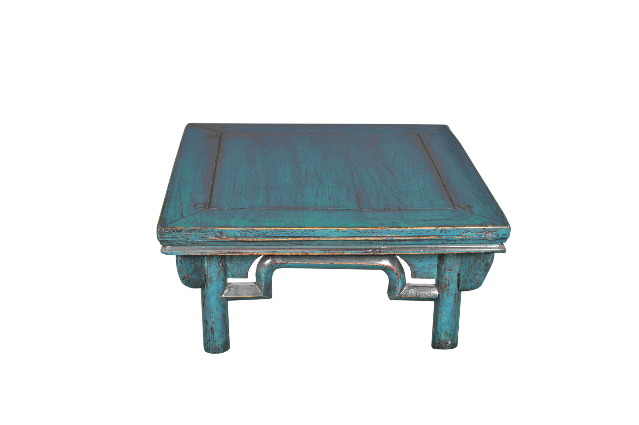 Antique Chinese Coffee Table Blue W58xd58xh43cm Orientique Asianliving