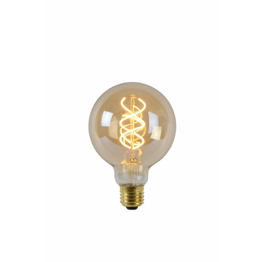 Led Verlichting Te Fel Lucide Dimbare Led Filament Lamp 9 5 Cm