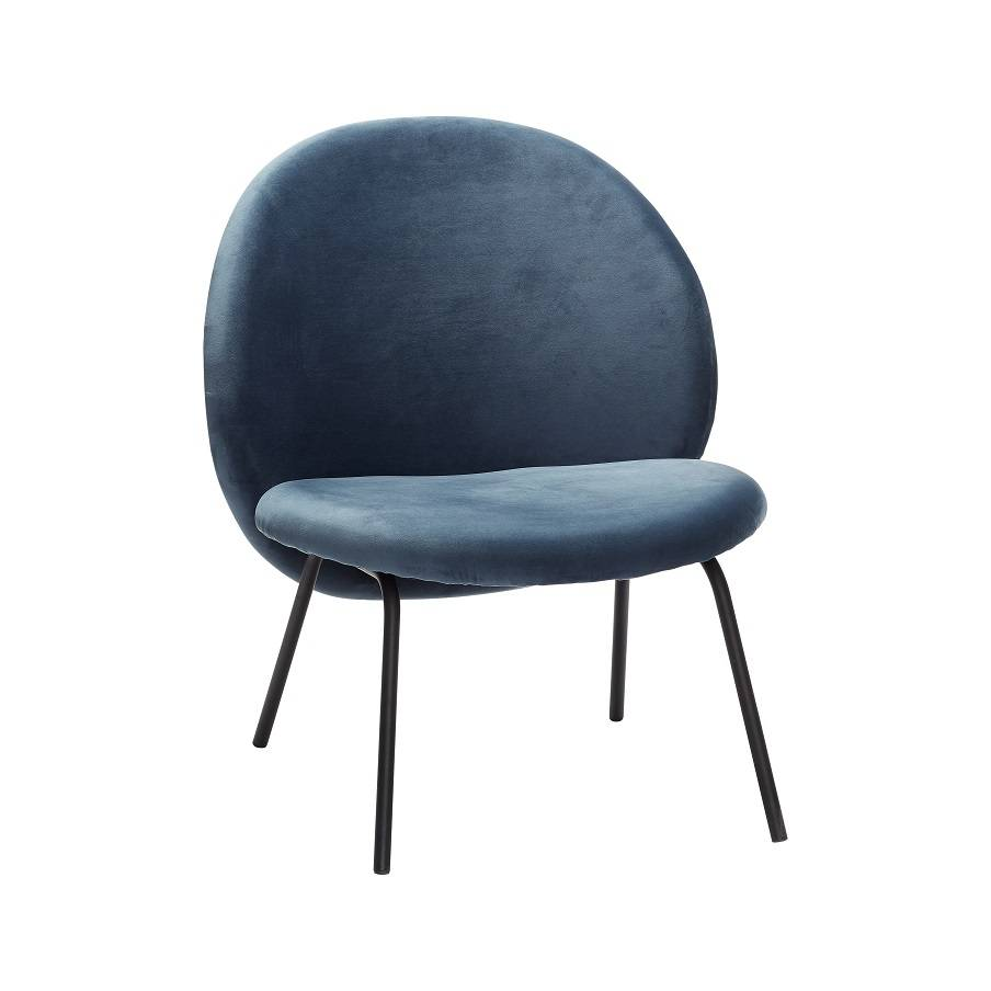 Metall Sessel Hübsch Lounge Sessel Blau Metall