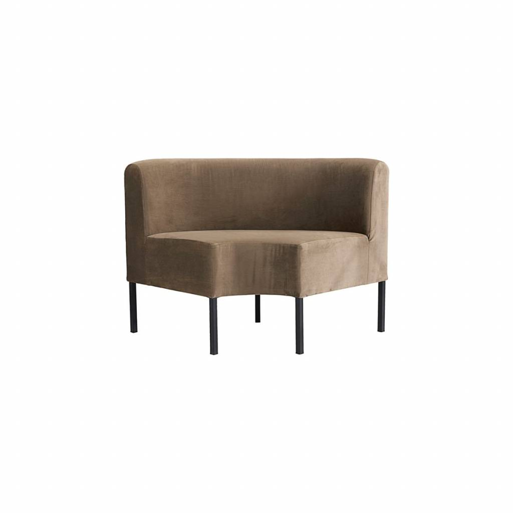 House Doctor Bank House Doctor Feast Corner Module Sofa Brown
