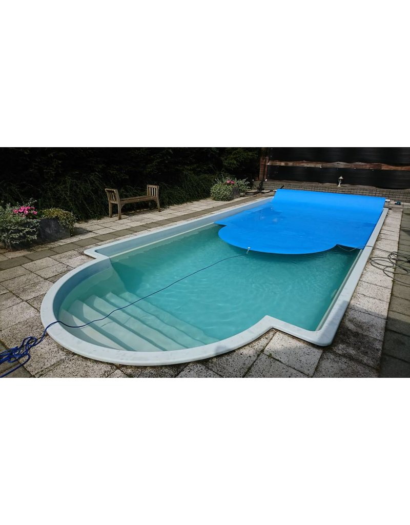 Zomerzeil Zwembad Ovaal Blue Poolcovers 6 Mm Blauw M2 Incl Montageset Vraag Offerte Aan