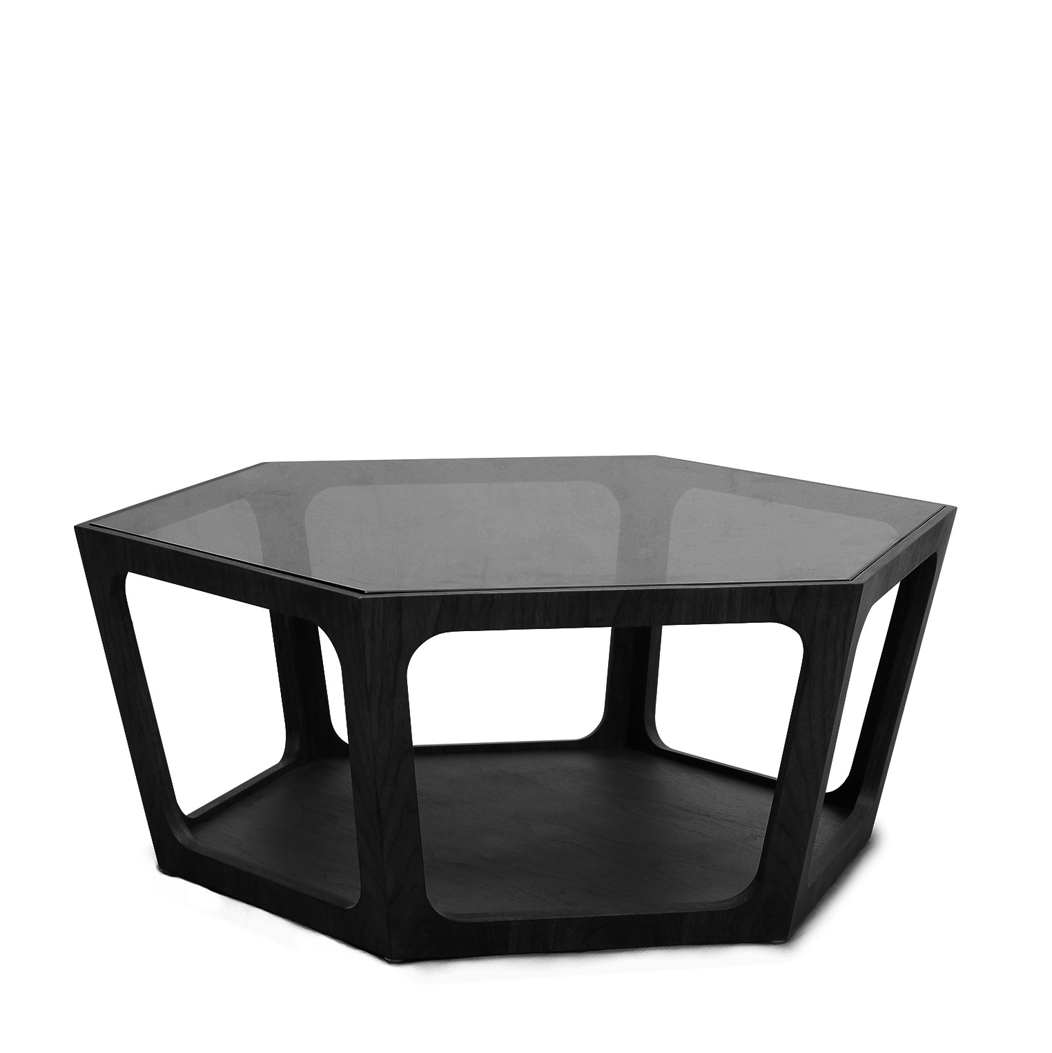 Amadeo Coffee Table Smoke Glass The Grand Interior The Grand Interior