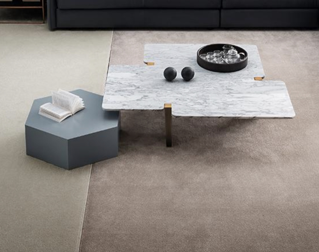 Salerno Coffee Table Rose Gold The Grand Interior