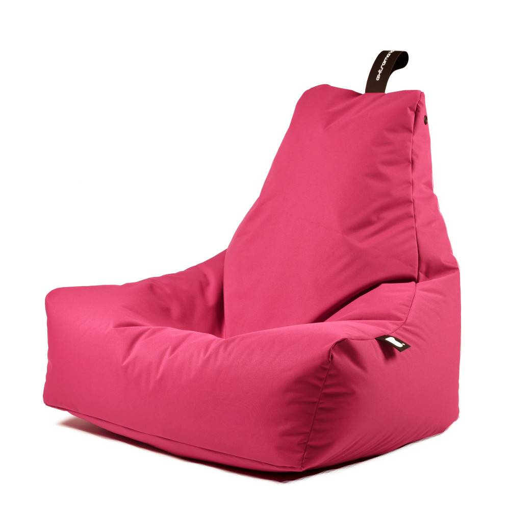 Pouf Exterieur Rose Extreme Lounging Pouf B Bag Mighty B Rose