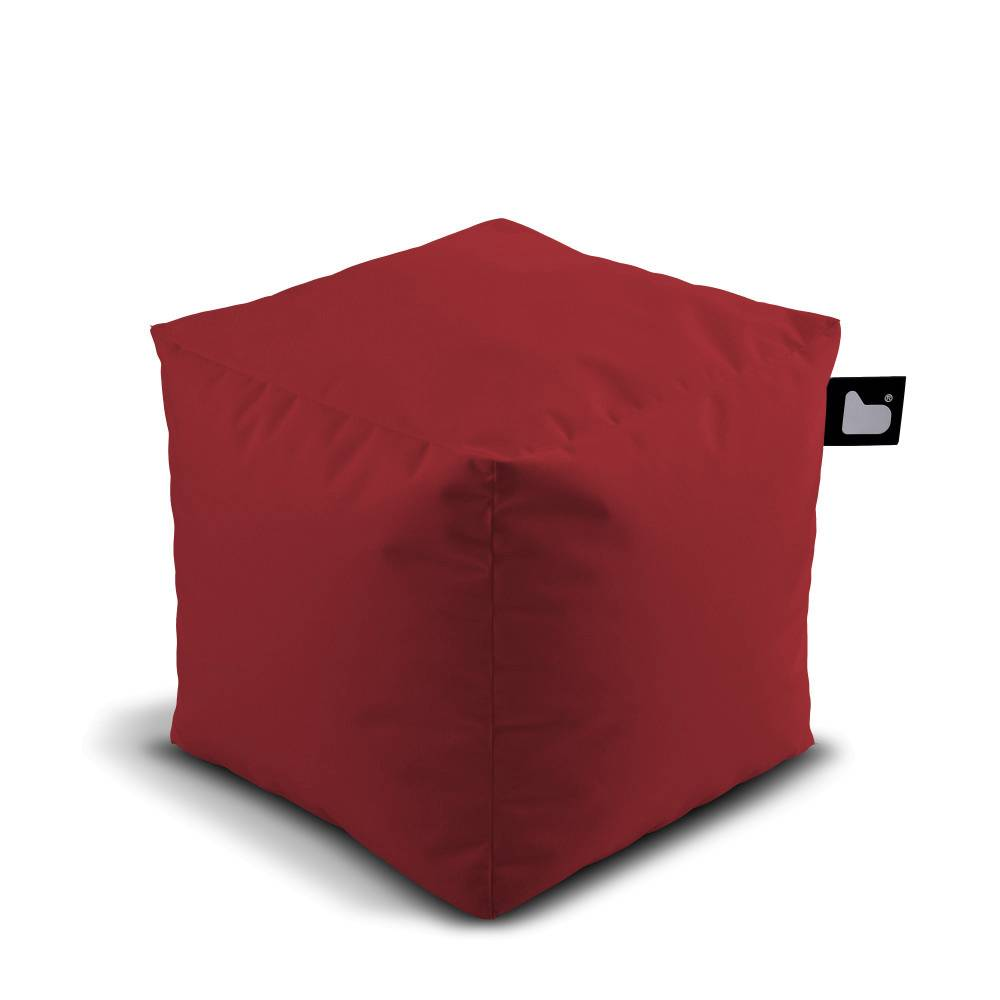 Pouf Rouge Pouf B Box Outdoor Rouge