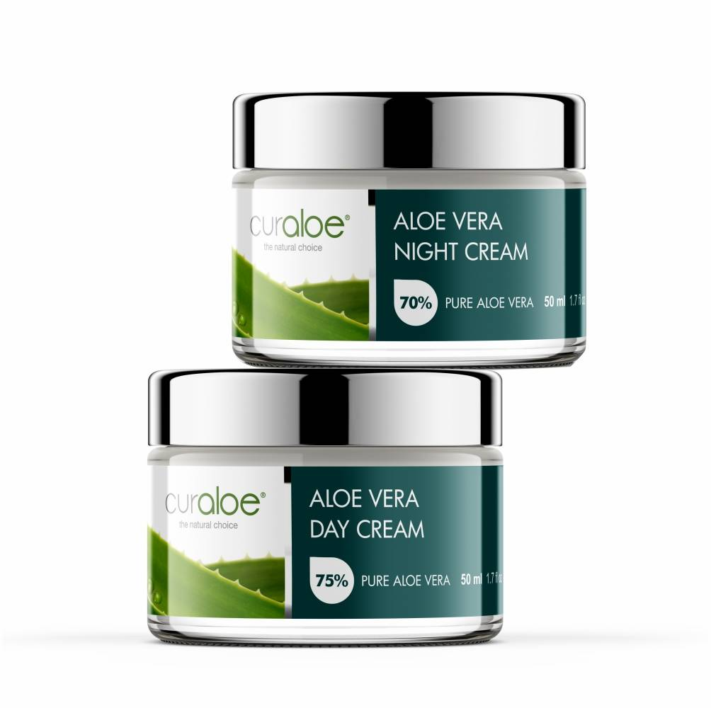Alo Vera Hydrating Day And Night Facial Care Combo