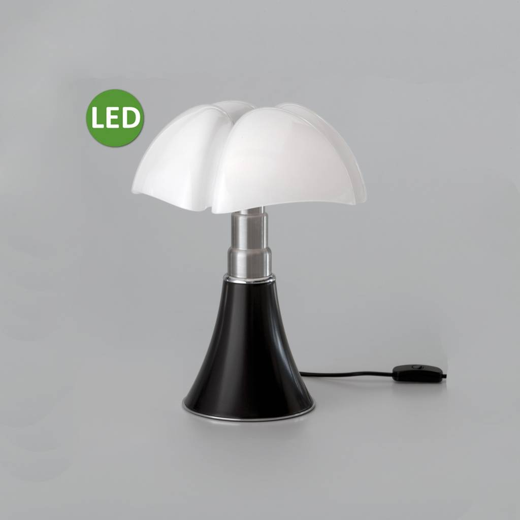 Lampe Pipistrella Martinelli Luce Led Table Lamp Mini Pipistrello Brown