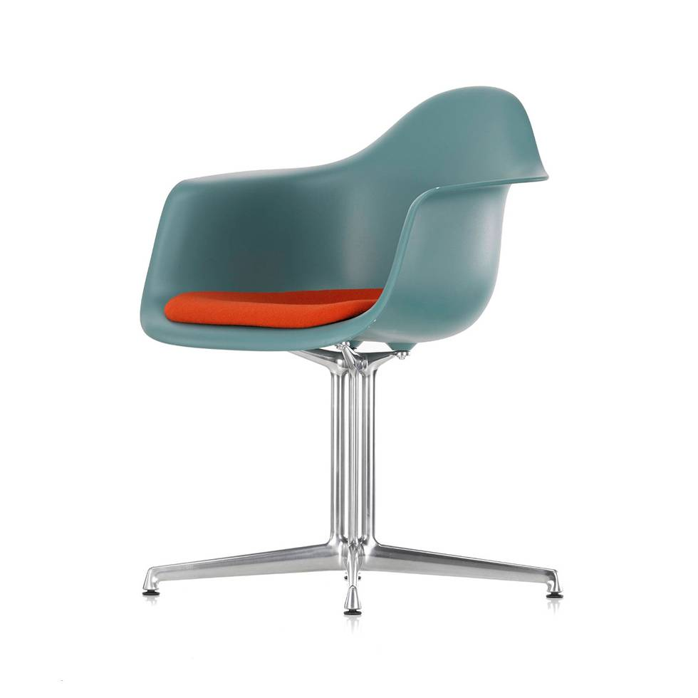 Vitra Eames Armchair Vitra Vitra Eames Plastic Armchair Dal Seat Upholstery