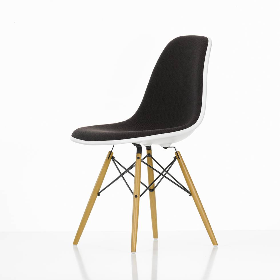 Eames Vitra Vitra Vitra Eames Plastic Side Chair Dsw With Full Upholstery