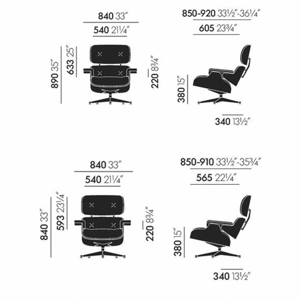 Vitra Eames Lounge Chair Dwg Vitra Vitra Lounge Chair Black Ash