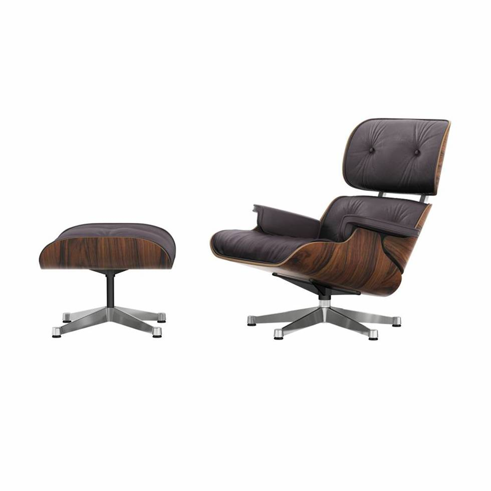 Vitra Lounge Chair Tweedehands Vitra Vitra Lounge Chair Ottoman Santos Palisander