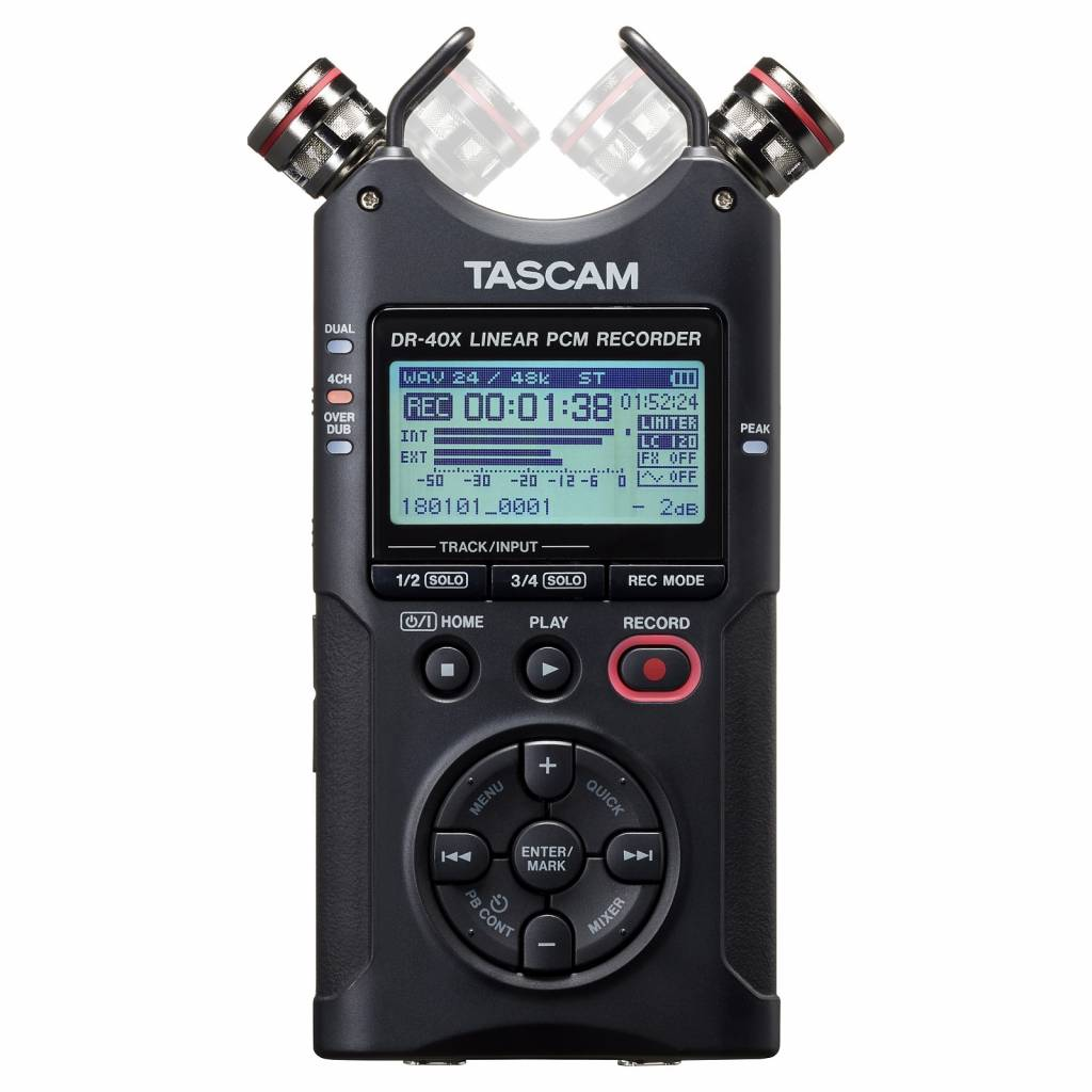Tuintegels Enter Dr 40x Audio Recorder