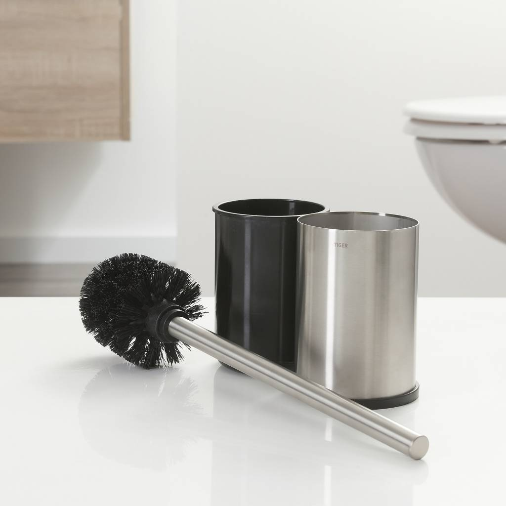 Wc Borstel Design Tiger Colar Toilet Brush And Holder Freestanding Stainless Steel