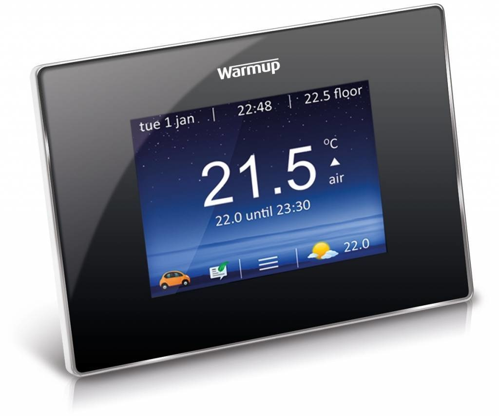 Thermostaat Elektrische Vloerverwarming Vervangen Quality Heating Complete 150 Watt Mat Set Inclusief Warmup 4ie Geavanceerde Wifi Thermostaat