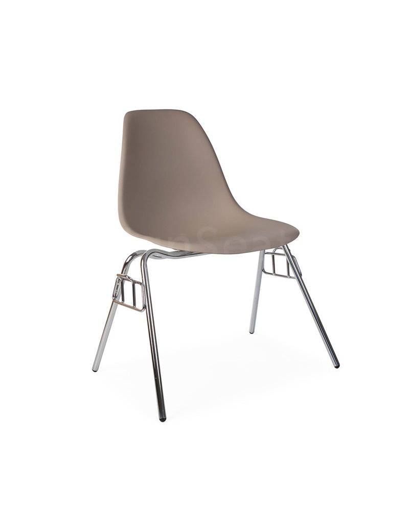 Eames Chair Beige Dss Eames Design Stacking Chair Beige