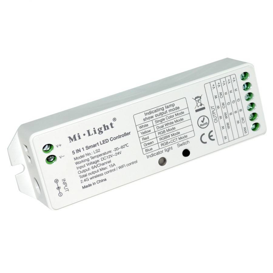 Draadloze Switch 5 In 1 Draadloze 2 4g Smart Led Controller Ls2