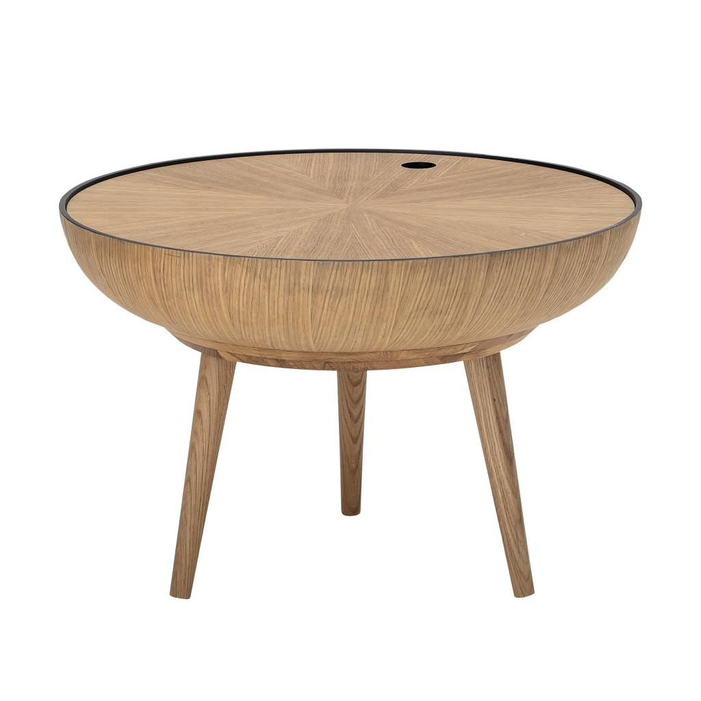 Broste Copenhagen Couchtisch Bloomingville Round Coffee Table Ronda Oak Ø60xh40cm Bloomingville